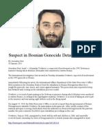 Suspect in Bosnian Genocide Detained in Israel