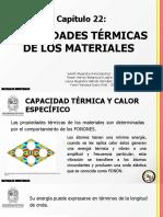 Propiedades termicas de los materiales (presentación) (1)