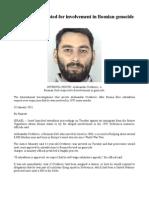 Israeli Man Arrested for Involvement in Bosnian Genocide