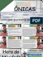 versão PDF ATV14 CRONICA AS PRIMEIRAS CARACTERÍSTICAS.