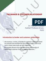 Banking customer relation