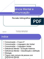 Deficiência Mental e Comunicação