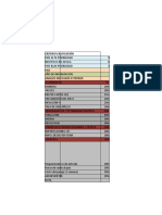 form matriz modelo
