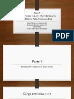Aula 9 – Conversores CA-CC Trifásicos