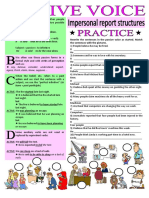 Passive Voice It is Saidhe is Said to Be Grammar Drills Grammar Guides 87342