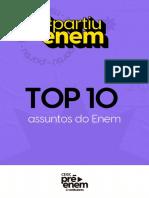 top 10 assuntos para o enem