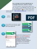 Entregar Una Tarea en Classroom- Celular -tablet