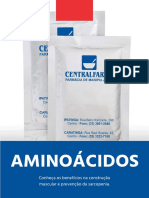 Comp. Nutricional Multiaminoácidos Estudo