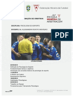 Apostila da Disciplina Psicologia do Esporte -2019