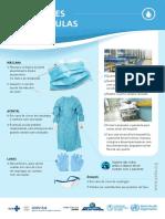 Cartazes Precaução de Contato, Gotícula e Aerossóis
