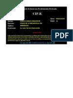 CUESTIONARIO DE INTERESES VOCACIONALES - PRFESIONALES - FOGLIATO 2003