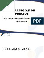 02 ESTRATEGIAS DE PRECIOS - SEGUNDA SEMANA