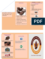 marketing folleto
