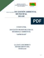 SISTEMA DE GESTIÓN AMBIENTAL jagua