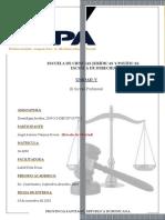 Tarea V de Deontología Jurídica