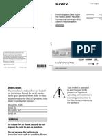 Sony NEX VG-20 Camera Manual.pdf