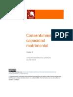 PDF Unidad 3 Consentimiento matrimonial (Tamayo)