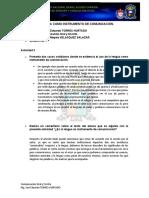 ACTIVIDAD LA LENGUA COMO INSTRUMENTO DE COMUNICACIÓN DERECHO  (VELASQUEZ)