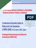 Conferencia Mundial sobre la Reducción de Desastres