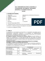 ADMINISTRACIÓN Y MARKETING FARMACEÚTICO QF