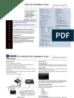 7000 118-363,C1,R5 SUPREME AIS Installation Short Instruction