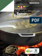 MEMORIAS ENCUENTRO INTERNACIONAL DE COCINAS TRADICIONALES