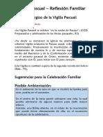Vigilia Pascual - Reflexión Familiar