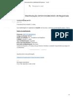 Protocolo Supremo Tribunal Federal 1-1-040820200047