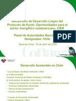 Mecanismos de Desarrollo Limpio Protocolo de Kyoto