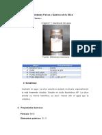 Propiedades Físicas y Químicas de la Sílice y Cuarzo.docx