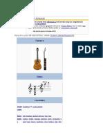 Guitarra el instrumentomas usado