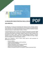 LA INDAGACIÓN COMO ESTRATEGIA PARA LA EDUCACIÓN STEAM.(RESUMEN) Omar Juan.docx