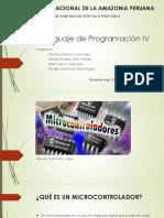 Lenguaje de Programación IV Microcontroladores