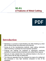 Lecture 19_The essential features of metal cutting_Chip Formation