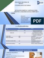 AUTOMATIZACIÓN PUERTAS Y VENTANAS.