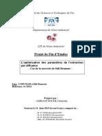 L'optimisation des parametres  - AMRANI SOUHLI khaoula_2327.pdf