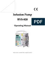 Manual Infusion pump BYS-820.pdf