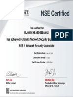 NSE FORTIGATE SECURITY
