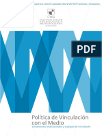 2013 politicas_vinculacion_medio_utem