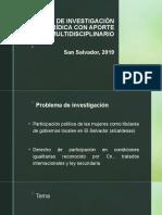 Ejemplo de investigación jurídica
