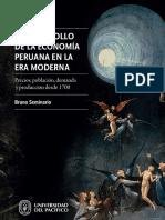 Producción, demanda y precios durante la época colonial 1700-1824  pág. 535 - 557