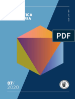 Informe de politica monetaria  - julio 2020 - Colombia