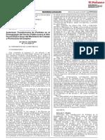 Decreto Supremo Nº 214-2020-EF