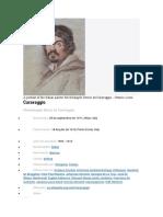 CARAVAGGIO OBRAS FAMOSAS