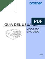 Mfc 250c Color Inkjet Allinone