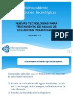 Tecnologia de Aguas Residuales, Noviembre  2013  Ver.2 Conferencia