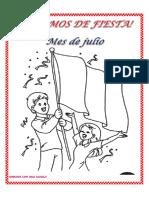 Fichas fiestas patrias