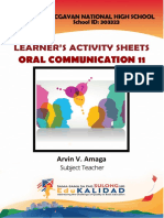 Oral Communication in Context - LAS Week 1