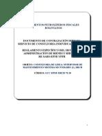 6 DCD Consultoria Individual de Línea v1 2020_supervisor Mtto.sis.Secundario