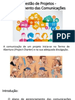 5-Gestão de Projetos - Gerenciamento Das Comunicações